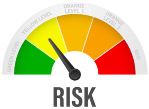 Risk Meter Yellow
