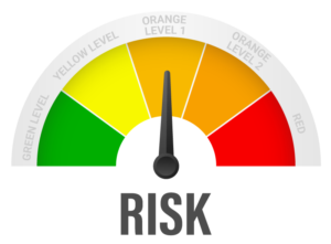 Risk Meter Orange Level 1